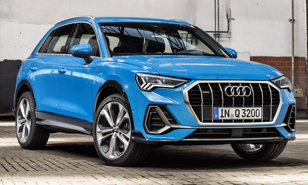 The new Audi Q3 has been revealed (seen here wearing the S line exterior package).
