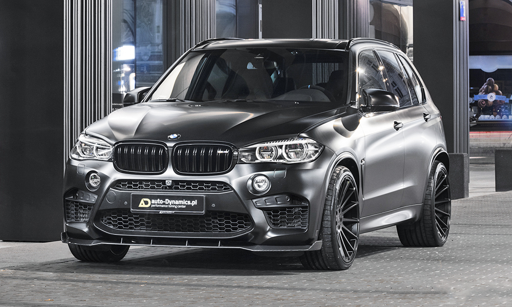 Meet the modified BMW X5 M Avalanche.