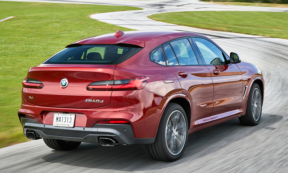 Driven Bmw X4 M40d Xdrive Sport Steptronic Car Magazine