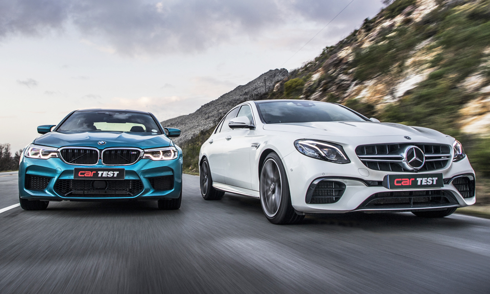 Never before have an M5 and an E63 been so evenly matched.