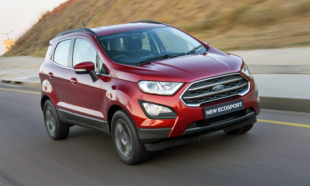 Ford's baby SUV gains a fresh new face.