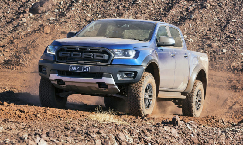 Ford Ranger Raptor: not a stunt vehicle?