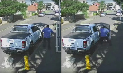 Ford Ranger would-be thieves