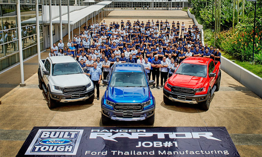Used Ford Raptor >> Watch the very first Ford Ranger Raptor units roll off the line! - CAR magazine