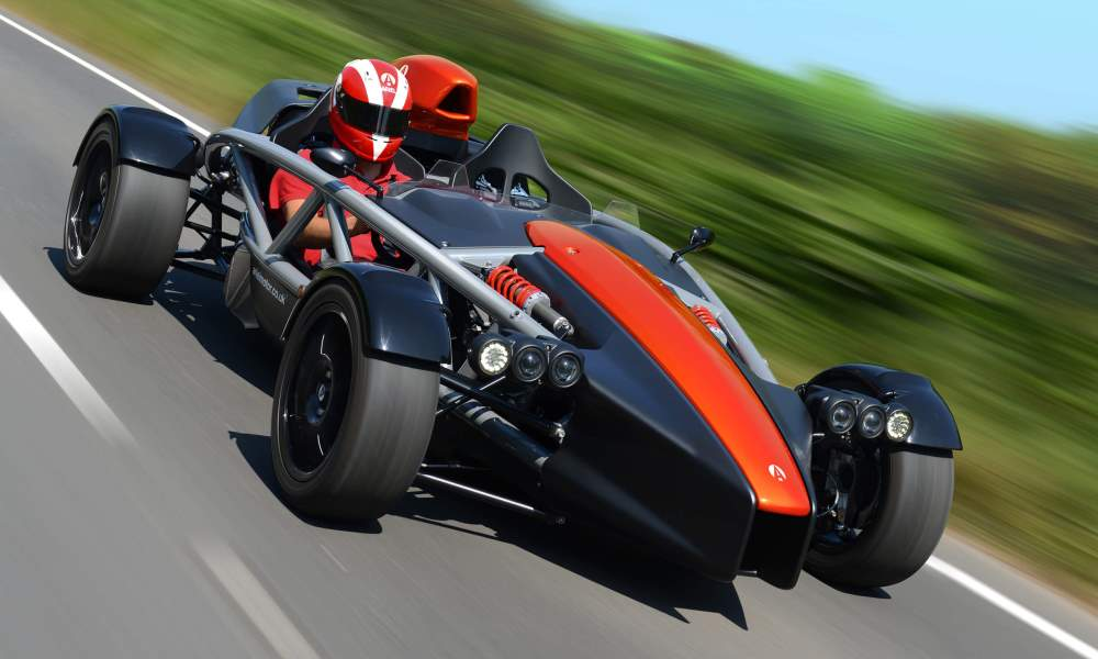 The Ariel Atom 4 features all-new bodywork.