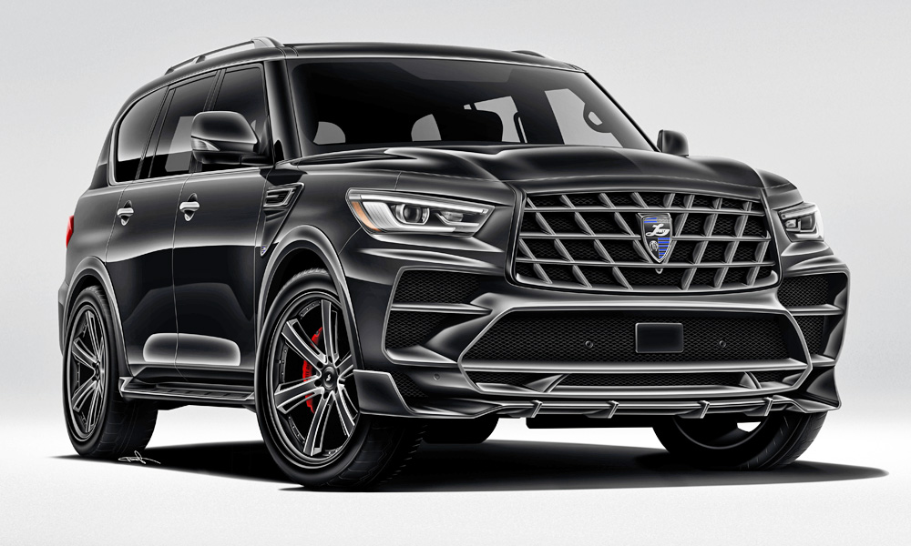 Larte has given the facelifted Infiniti QX80 some more attitude.