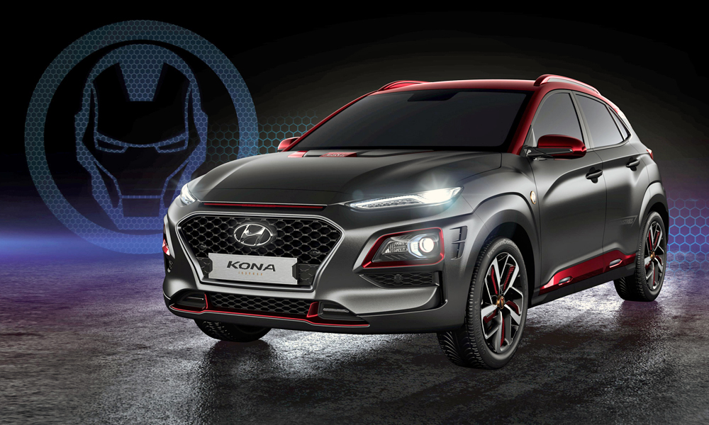 Meet the new Hyundai Kona Iron Man Edition.