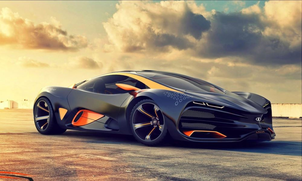 It started life off as the Lada Raven concept.