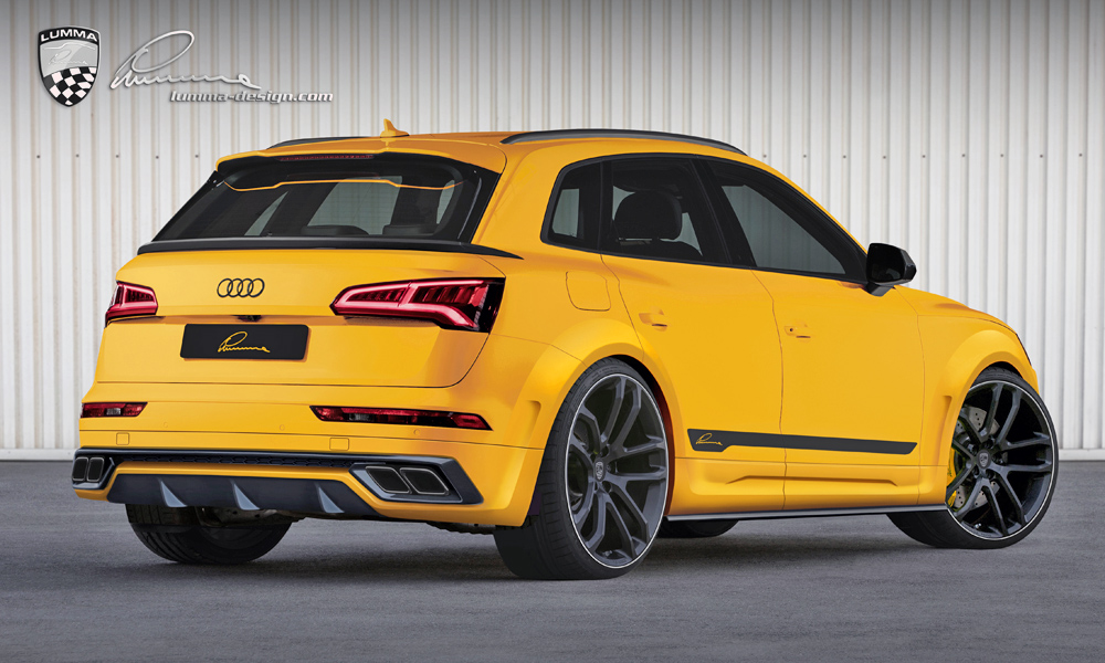 Lumma Design has revealed a new body kit for the Audi SQ5.