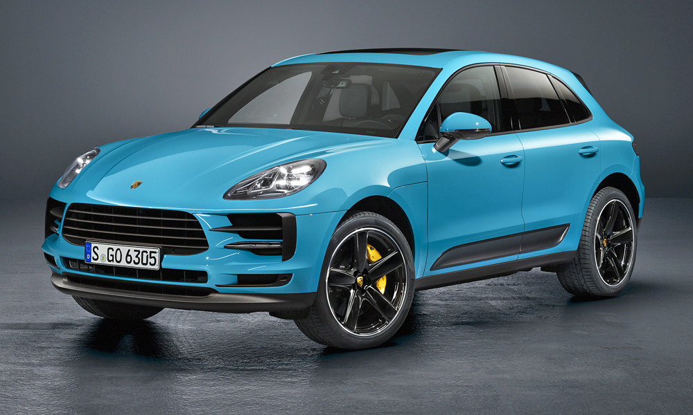 Porsche has revealed its facelifted Macan.