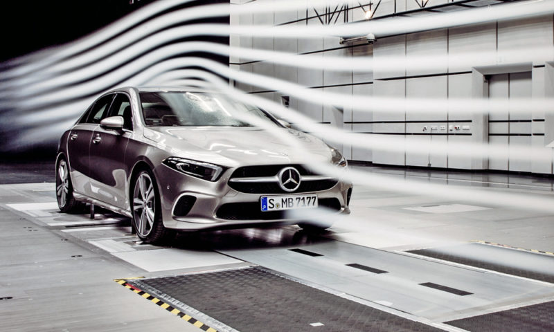 Mercedes benz a class sedan is world 39 s 39 most aerodynamic for A class mercedes benz price
