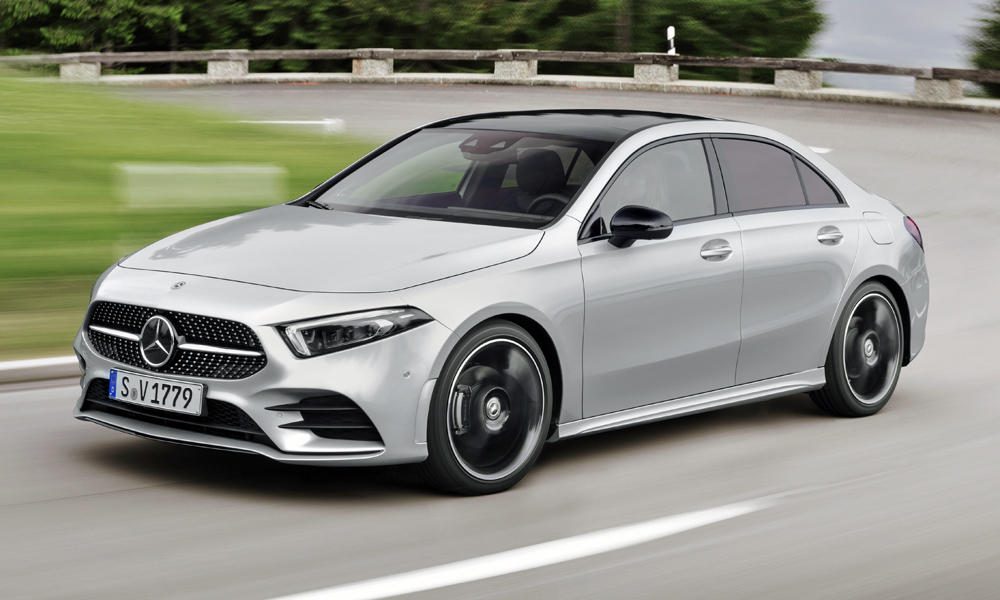 New mercedes benz a class sedan officially revealed car for A class mercedes benz price