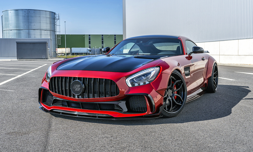 Prior Design has slapped a widebody kit on the Mercedes-AMG GT S.