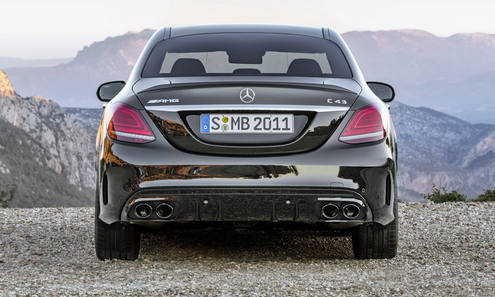 Pricing for facelifted mercedes benz c class sedan for Mercedes benz c class amg