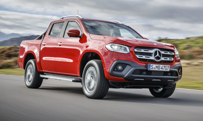 Mercedes-Benz X-Class units