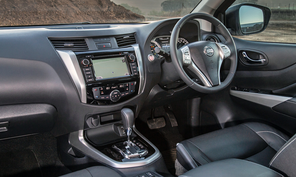 Leather upholstery and navigation are also included in the LE trim level.