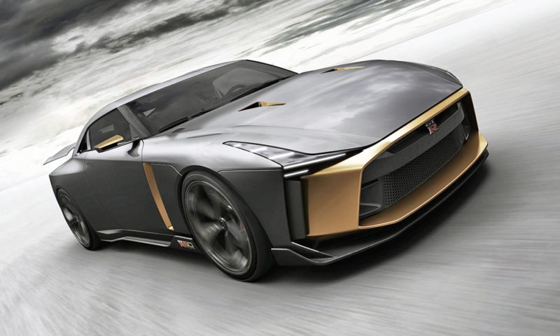 Nissan may build 50 examples of that GT-R50