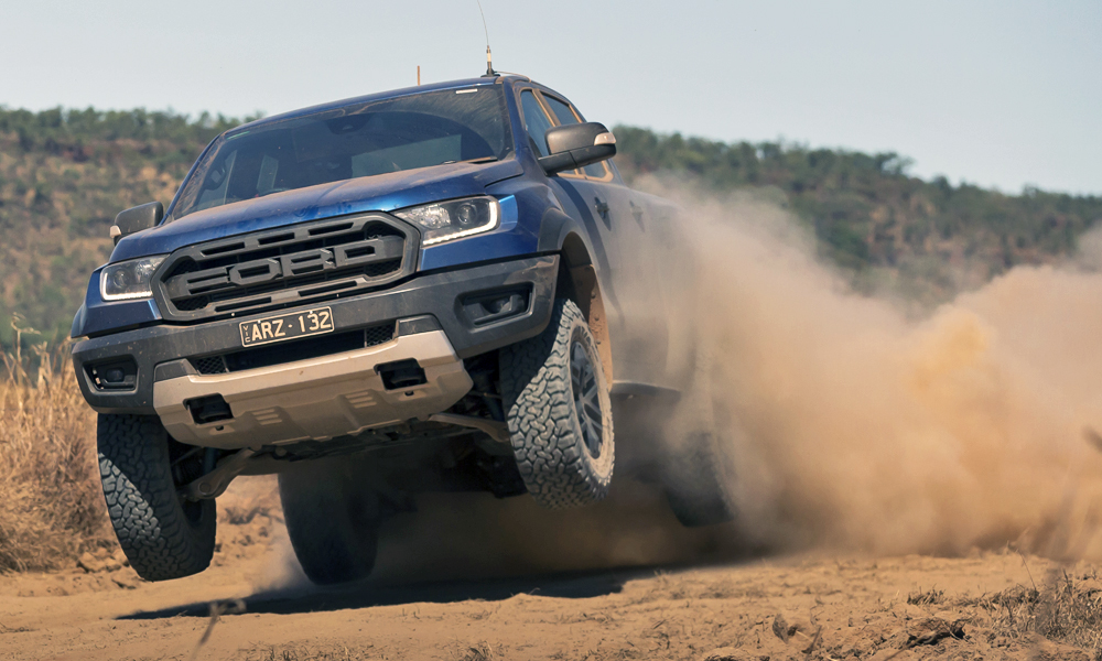We drive the new Ford Ranger Raptor in Australia.