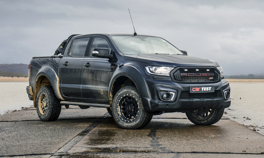 The Roush Ford Ranger certainly has presence.
