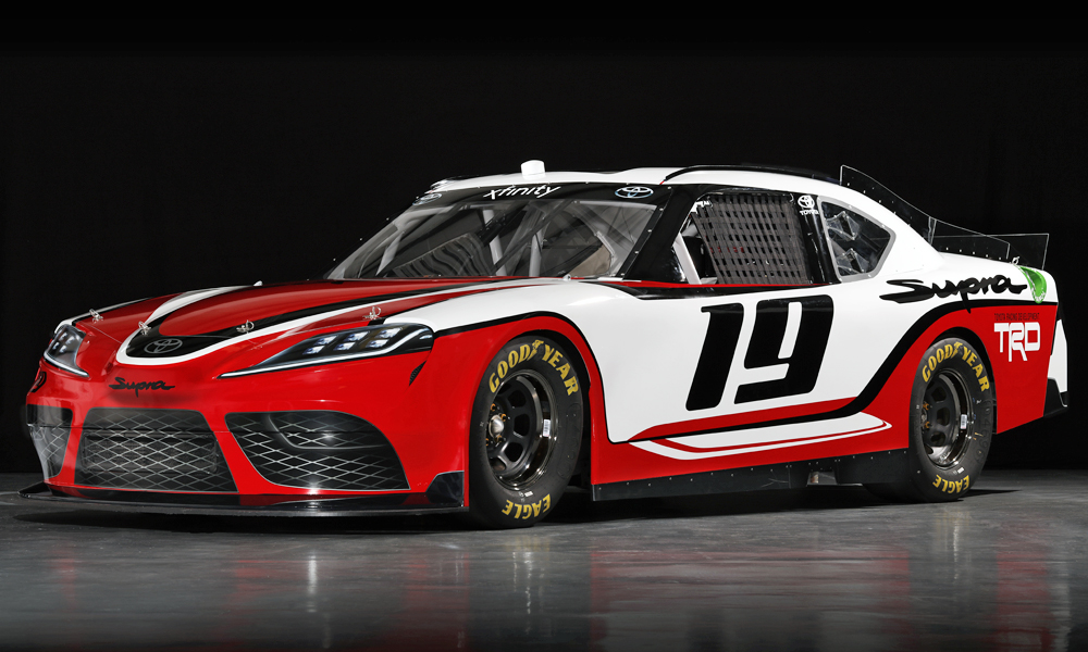 Toyota has announced that it will run the Supra in NASCAR in 2019.