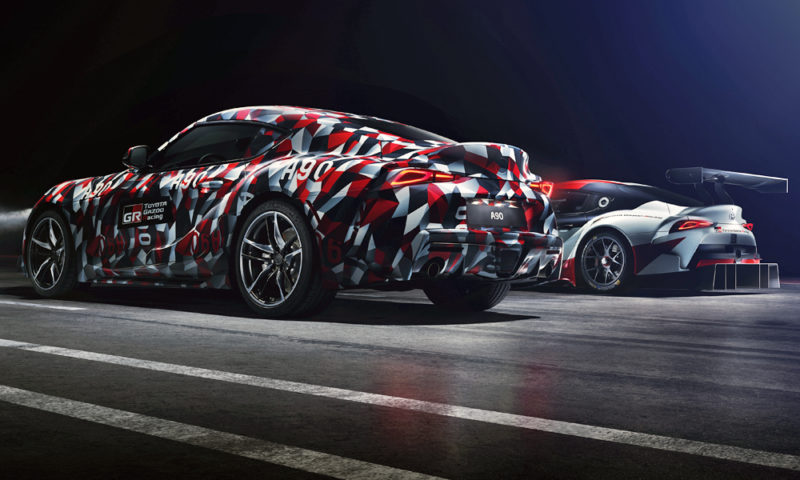 Toyota Finally Confirms Six Cylinder Engine For New Supra...   CAR Magazine