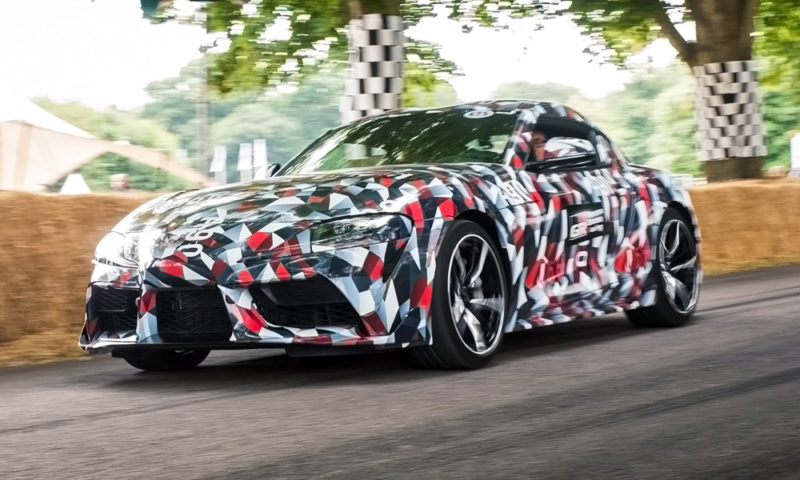 Four Cylinder Toyota Supra May Slot Below The Inline-Six Engine