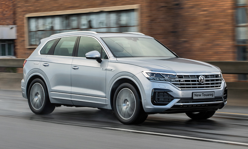 We drive the new Volkswagen Touareg in Plettenberg Bay.
