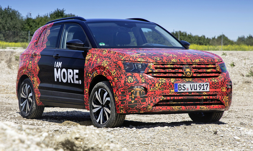 Volkswagen has released new information on and images of the T-Cross.