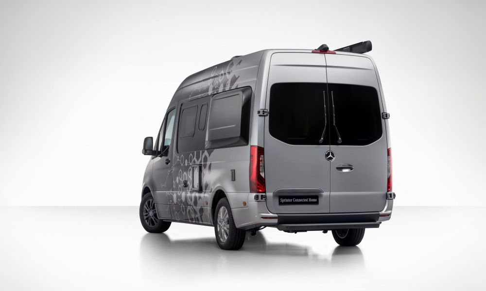 Some of its features will be integrated into the 2019 Sprinter.