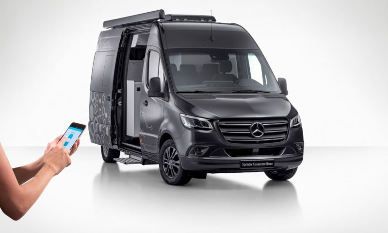 Mercedes-Benz Sprinter Connected Home front