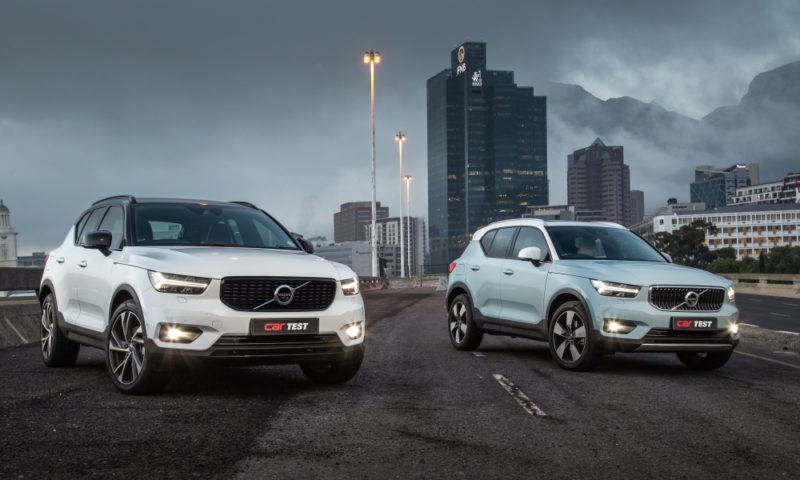 XC40 T5 and D4