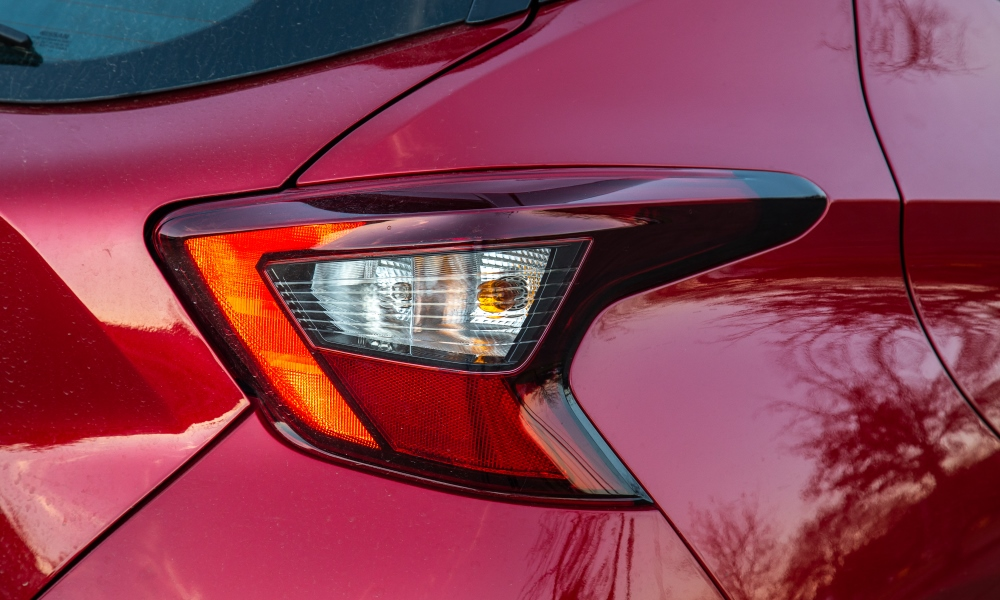 Quirky rear lights are but one of many interesting design features.