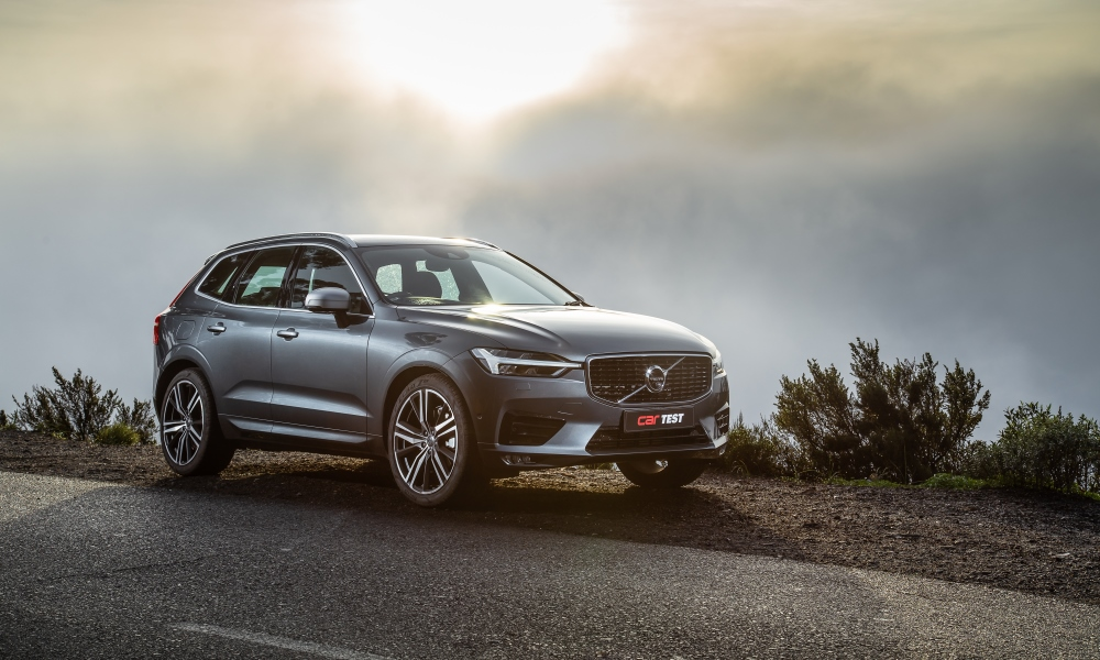 The XC60 acquits itself as both a comfortable cruiser with a pinch of pace.