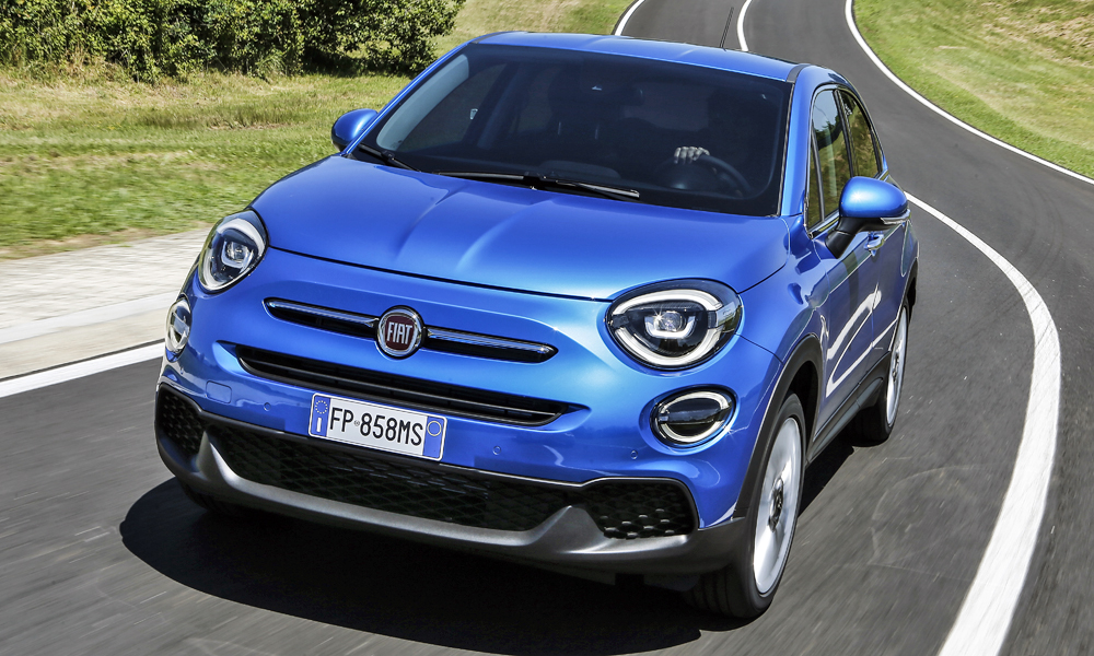 The facelifted Fiat 500X has been revealed.