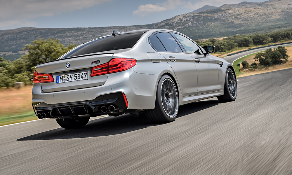 The revised exhaust system certainly sounds more tuneful than on the standard V8.