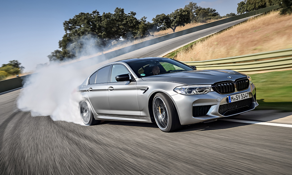Disclaimer: the author was not behind the wheel of this M5 Competition when this image was snapped.