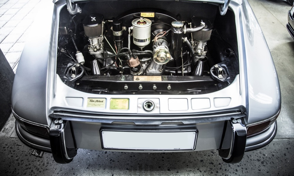 The 1,6-litre flat-six powerplant from the 912.