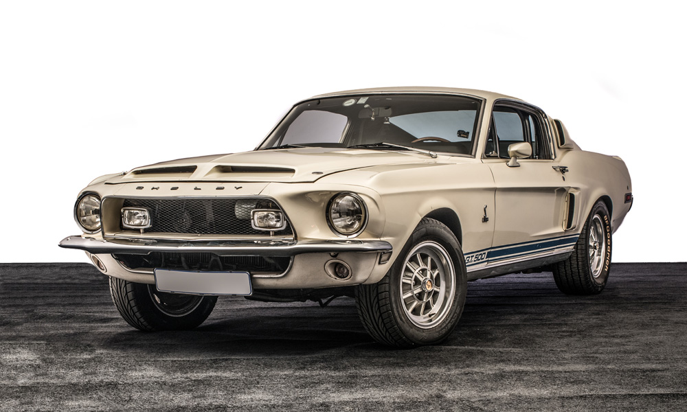 A completely original and unrestored Shelby Mustang GT 500 will be one of the cars going under the hammer.