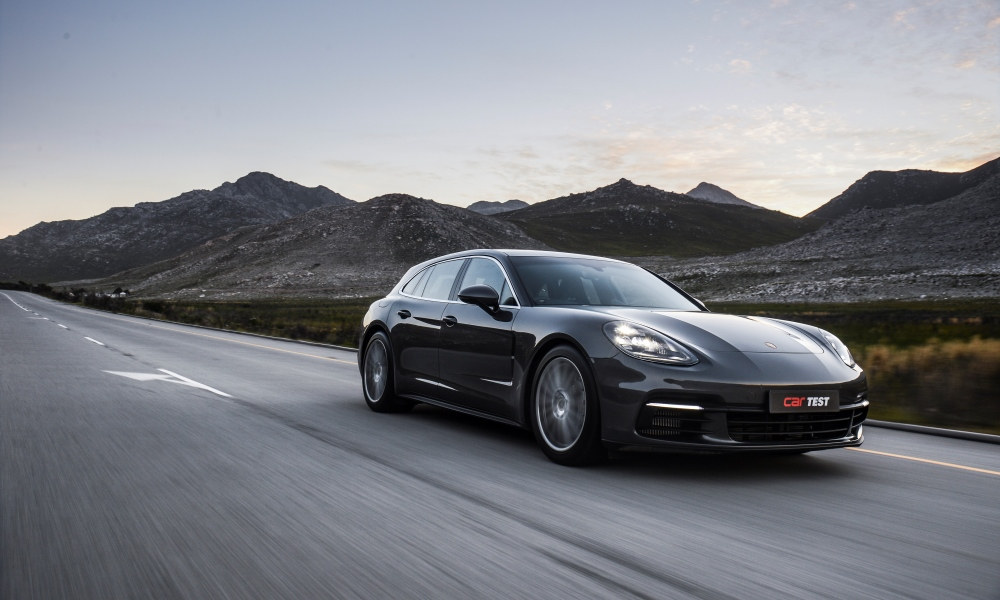 There can be no doubt that this is the best-looking Panamera in the range.
