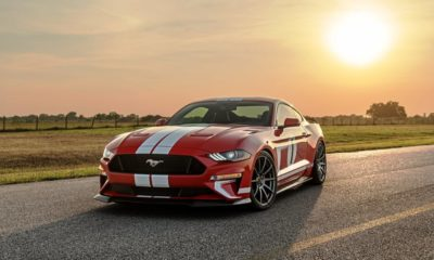 Hennessey Heritage Mustang front