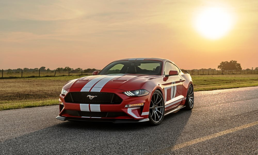 Hennessey has created a limited edition Mustang to celebration its 10 000th car.