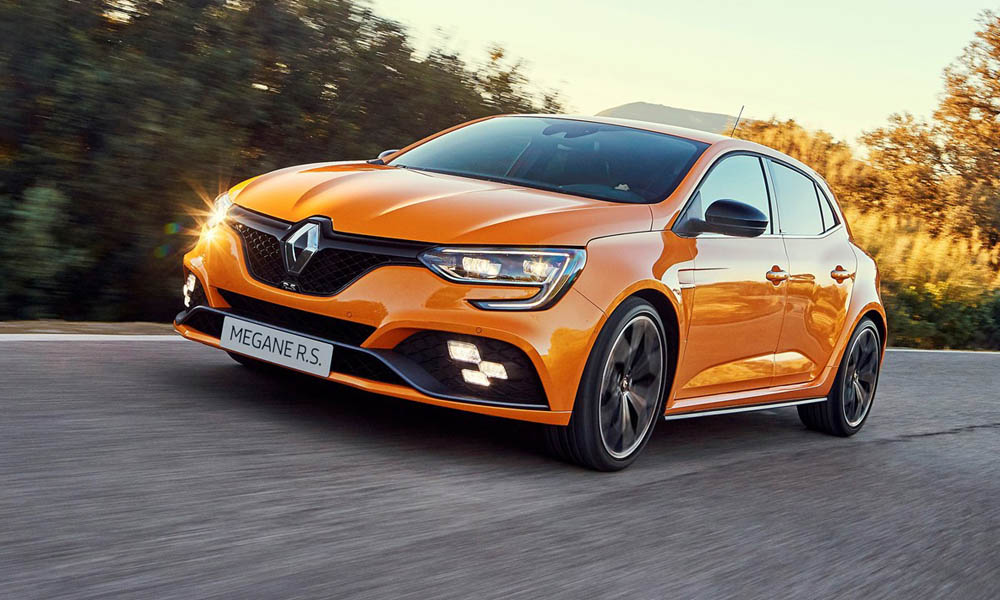 We  drive the new Renault Mégane RS 280 Lux EDC.