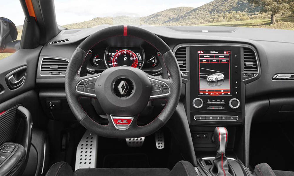 EDC's paddles are mounted to the steering column.