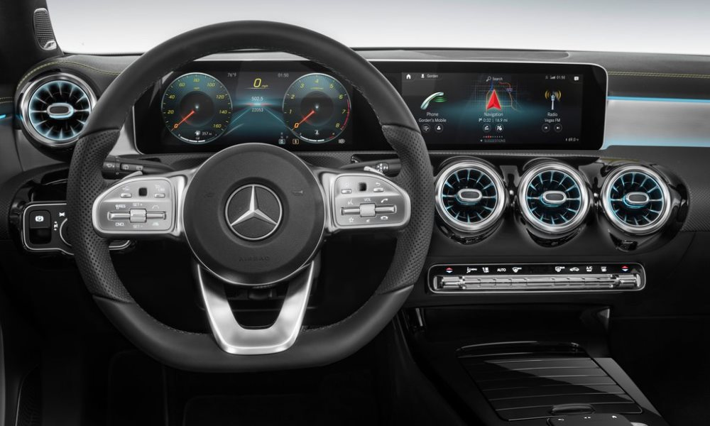 Note the new digital dash.
