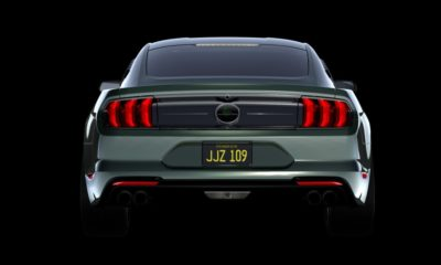Steeda Bullitt Mustang rear 2