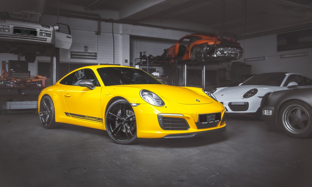 Techart has given the Porsche 911 Carrera T some 317 kW.