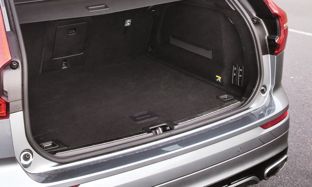 Boot space is among the best in class although load area is slightly height-biased rather than long.