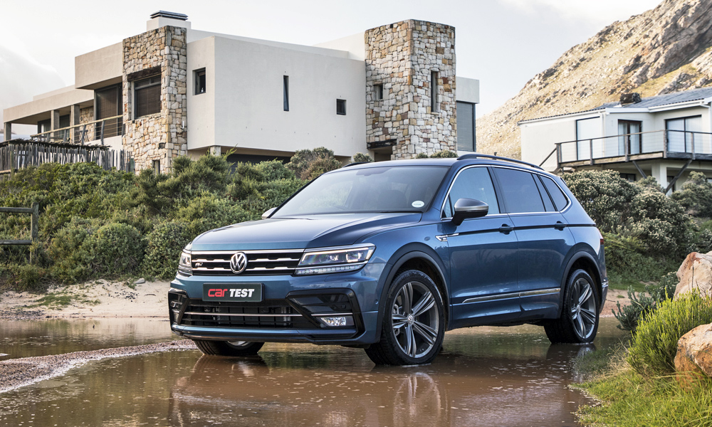 The Volkswagen Tiguan Allspace adds a third row of seats.