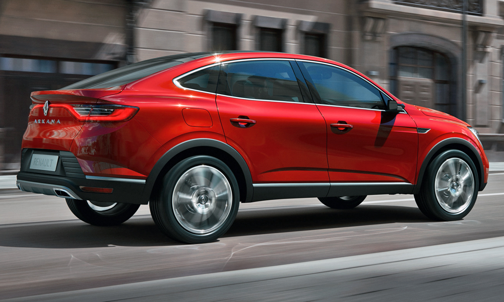 It is the French brand's first coupé-style crossover.