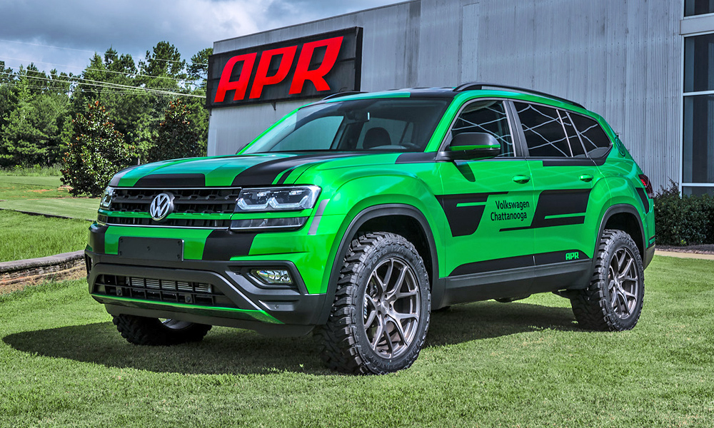 tuner gives vw atlas more power improved off road ability car